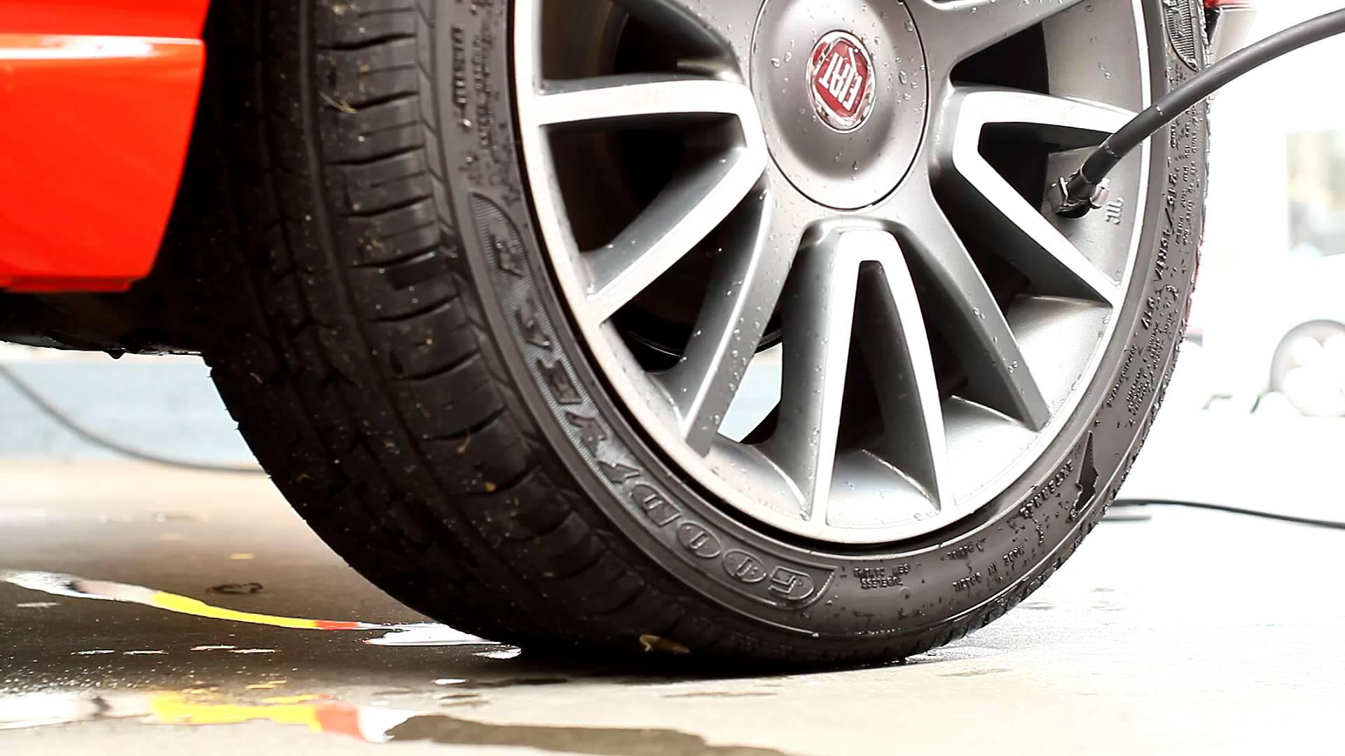 calibra o pneu